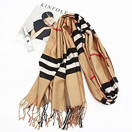 Clothing Accessories SED Scarf-Woman Winter Scarf Thick Warm Knit Scarf Long Scarf Shawl All-Match