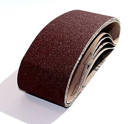 10 Schleifb/änder 75x533 K40-K240 - Bandschleifer//Schleifpapier//Gewebe-Schleifb/änder Korn 40 K/örnung w/ählbar
