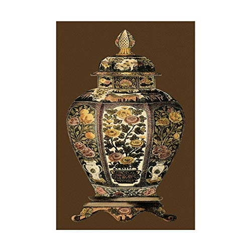 (Trademark Fine Art Small Amber Porcelain Ii by Vision Studio, 12x19-Inch)