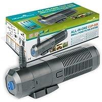 Filtro De Estanque/UV Esterilizador De Luz - Clarificador/Bomba/Fuente 2000 Litros Por Hora Todo En Un Sistema Para Todos Los Estanques Taza-359