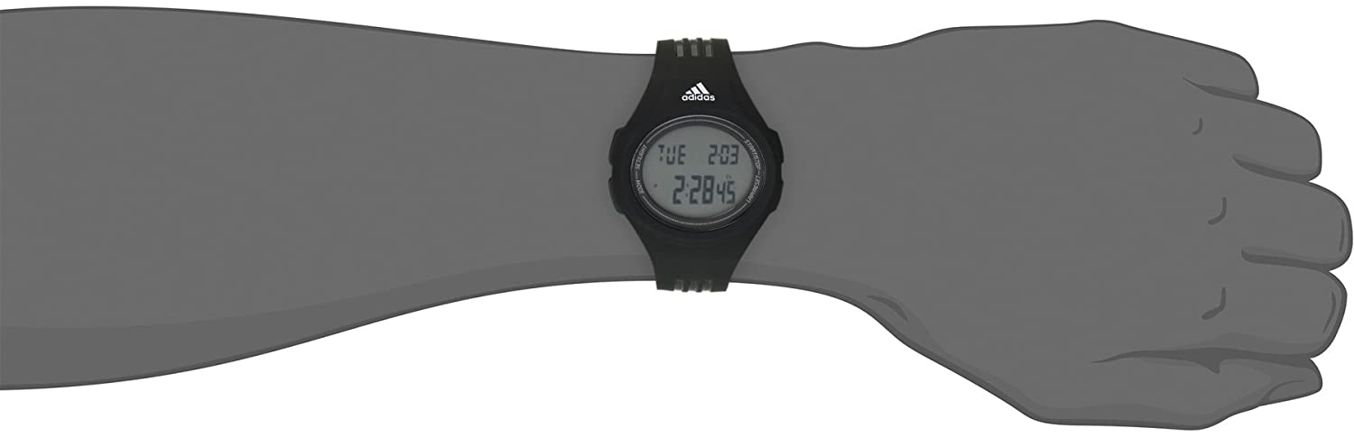Amazon.com: adidas Unisex ADP3159 Stainless Steel Watch With Black Polyurethane Band: Adidas: Watches