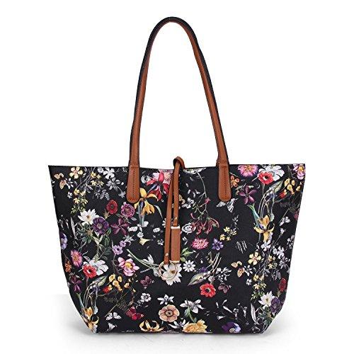 D De Piezas Moda Bag Cross Señora Bag Diagonal Dos Señora Shoulder Big Mano Imprimir La JPFCAK De PaRXTWqTn