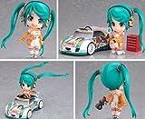 Anime toys hand to do Q version clay 109 # racing girl Hatsune Miku