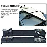 Feileng Foam Padding Surfboard Ceiling Storage Rack Surfboard Roof Rack Car Roof Rack Pads for Surfboard Kayak Snowboard Racks