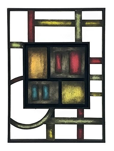 Bellaa  Abstract Metal Wall Art - vintage wall decor