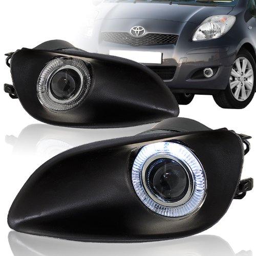 2006 - 2008 Toyota Yaris Sedan Halo Projector Fog Lights Lamps (Sedan Yaris Used Toyota)