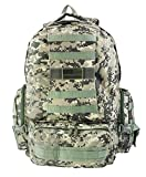 [IMPACK] RT1508 Sport Outdoor Military Tactical Molle Backpack Camping Hiking Trekking Backpack (ACU) For Sale