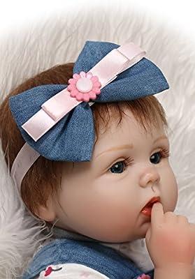 Amazon Com New Version 18 Inches Cute Silicone Reborn Baby New