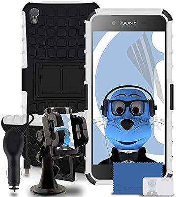 iTALKonline Sony Xperia Z5 negro resistente y Dura disco ...