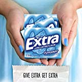Extra Gum Peppermint Chewing Gum, 15 Pieces