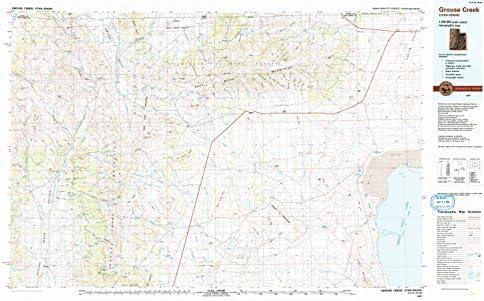 Grouse Creek Utah Map.Amazon Com Yellowmaps Grouse Creek Ut Topo Map 1 100000 Scale 30