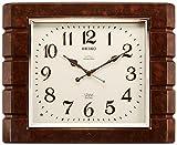 SEIKO CLOCK ( Seiko clock ) wall clock chime and strike radio clock twin -Pas RX209B