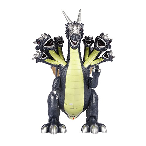Allosaurus Dinosaur Costume (Action Packed Dinosaur Allosaurus Kid's Toy for Boys & Girls – Figure for Your Dino Collection-Educational Jurassic Action Figure, Realistic Sounds & Lights- Years 3+ (Grey))