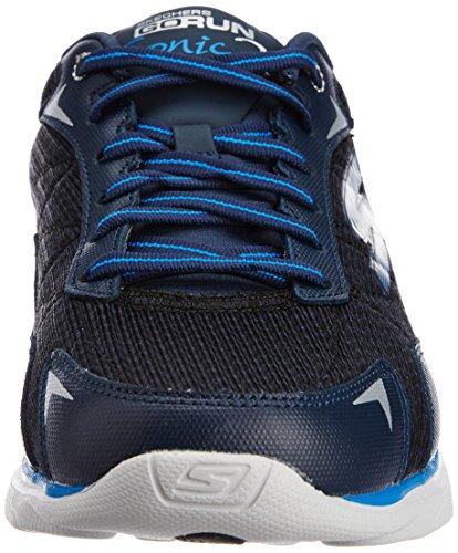 Skechers Performance Hombres Go Run Sonic 2 Running Shoe Navy / Gris