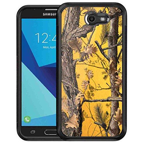 Galaxy J3 Emerge Camo Case, BAYKE Slim Fit Shock Absorption TPU Bumper Drop Protection for Samsung Galaxy J3 Prime/J3 Emerge/Express Prime 2/Amp Prime 2/J3 Mission/J3 Eclipse/J3 Luna Pro/Sol 2/J3 (Glitter Playboy Bunny)