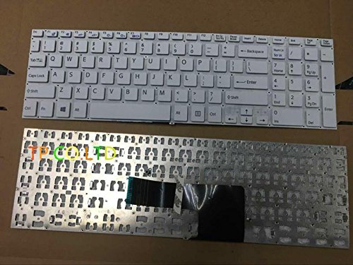 Replacement Keyboard without Frame for Sony VAIO SVF15 SVF 15 SVF15E SVF15N SVF15A16CXB SVF15N17CXB SVF15NB1GL SVF152C29M series Black US Layout