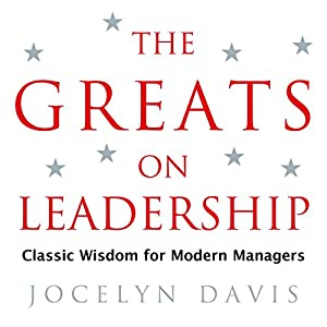 The Greats on Leadership Audiobook