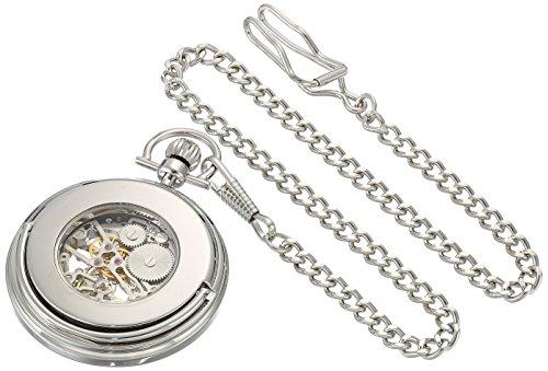 Stuhrling-Original-Mens-Vintage-Mechanical-Pocket-Watch-Stainless-Steel-Analog-Skeleton-Hand-Wind-Mechanical-Watch-with-Belt-Clip-Stainless-Steel-Chain-605333113