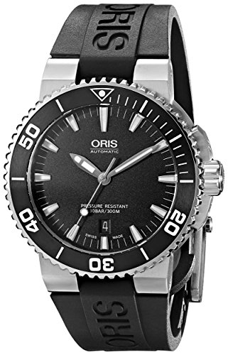 Oris-Mens-73376534154RS-Analog-Display-Swiss-Automatic-Black-Watch