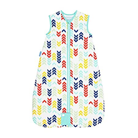 The Gro Company Travel Grobag, 0-6 Months, 2.5 Tog, Action Stacks AAA5246