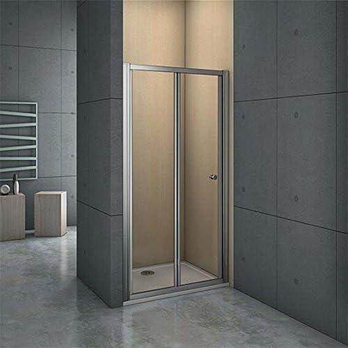 Perfect Mampara ducha panel Lateral bandeja endurecido cristal puerta cubículo, 900mm door: Amazon.es: Hogar