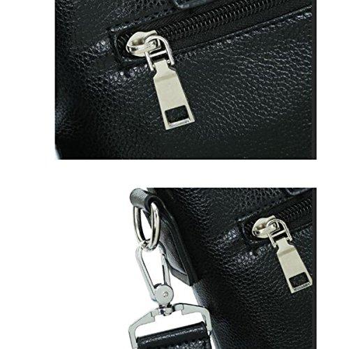 Calidad De Usos Múltiples Clásico Paquete Salvaje Caballero De Archivos Del Ordenador Portátil Mochilas Bolsa Handcarry Brown