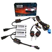 uxcell® AC 55w 9004 9007 Hid Headlight kit with SLIM Ballast Bi Xenon 6000K