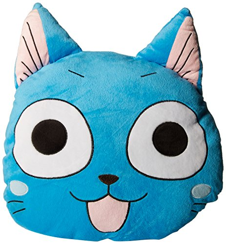 Happy Tails Toy - GE Animation 45757 Fairy Tail Multi-Functional Happy Head Pillow & Blanket Set