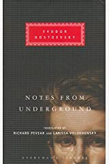 Notes From The Underground (Everyman's Library) by Fyodor Dostoevsky (4-Mar-2004) Hardcover Hardcover