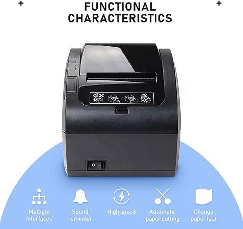 MUNBYN Impresora de Ticket Térmica Bluetooth Inalámbrica ...