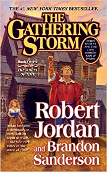 Book By Robert Jordan - The Gathering Storm (Reprint) (8/29/10)