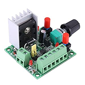Stepper Motor Controller PWM Pulse Signal Generator Speed Regulator Board,DC 15-160V/ 5-12V by Walfront