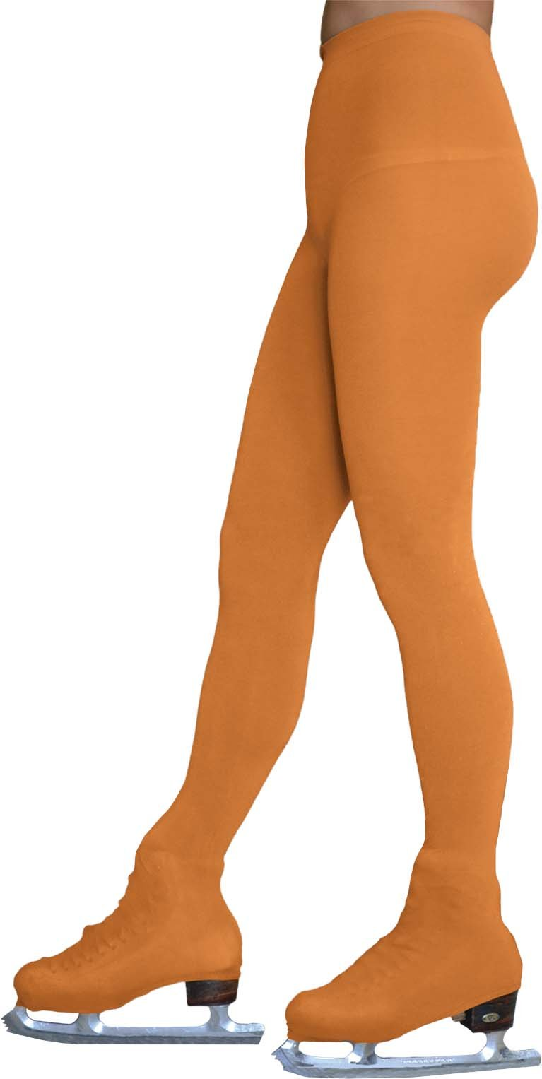 Chloe Noel Figure Skating Tan Over The Boot Tights TB8832 Tan Child Small (6-8 by Chloe