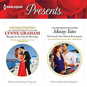 Bought for the Greek's Revenge & The Greek's Nine-Month Redemption Audiobook
