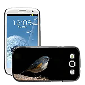 GoGoMobile Slim Protector Hard Shell Cover Case // M00124180 Red Flanked Bluetail Birds Animals // Samsung Galaxy S3 S III SIII i9300