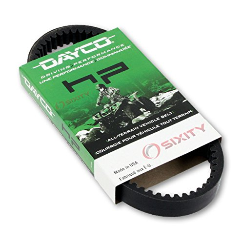 2006-2008 for Kawasaki Brute force 650 Drive Belt Dayco HP ATV OEM Upgrade Replacement Transmission Belts ()
