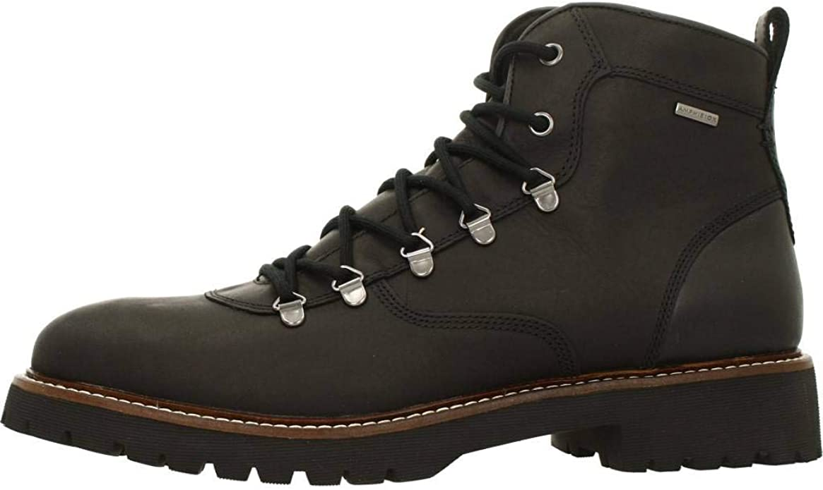 tribu Incorrecto Reportero  Geox Men Boots U KIEVEN B ABX Black 10.5 UK: Amazon.co.uk: Shoes & Bags