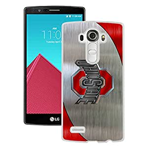 Beautiful Designed Case With Ncaa Big Ten Conference Football Ohio State Buckeyes 10 White For LG G4 Phone Case