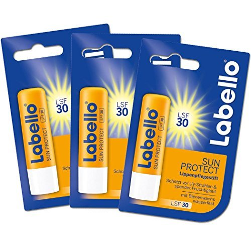 Labello Sun Protect 30 LSF 3 Pack by Labello