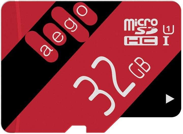 AEGO Tarjeta Micro SD 32GB UHS-1 Clase 10 SD Tarjeta de Memoria ...