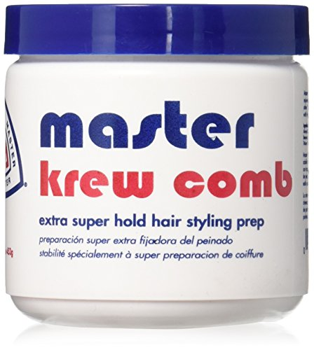 Krew Comb Extra Super Hold Hair Styling Prep 16 Oz