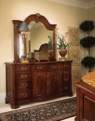 American Drew Cherry Grove Door Triple Dresser w/ Mirror