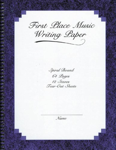 Stave Place (The 1st Place 12 Stave Music Writing Book)