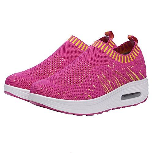 de Shake Femme Et Maille Haute Chaussures Coussin Respirants Eté en D'air en Sport Décontractées Printemps Sfit xYqBSwpZq