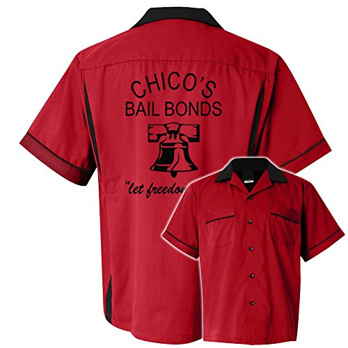Chicos Bail Bonds Stock Print on Classic Bowler 2.0 ()