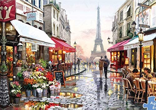 1000 Pieces Wooden Puzzles for Adults and Kids,Entertainment Toy Classic Unique Home Decorations and Gifts 7550CM Flower Store