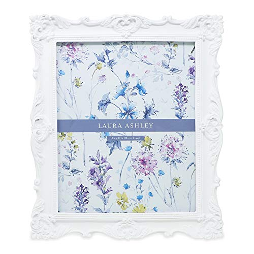 (Laura Ashley Chunky Resin Picture Frame (8x10, White) )
