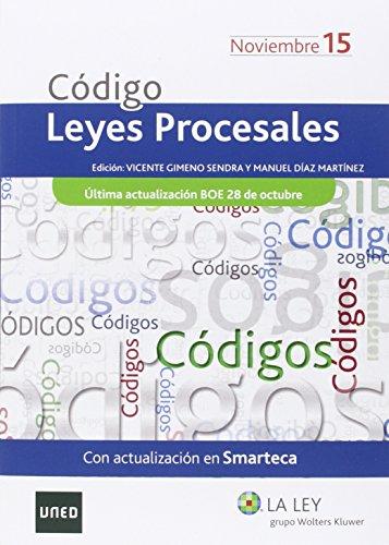 Código De Leyes Procesales 2015