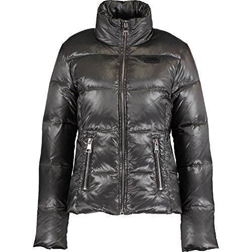 Lagerfeld Quilted Jacket Puffa Grey Karl 7qRdwUU