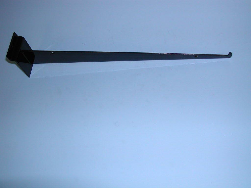 16 SHELF BRACKET WITH LIP FOR SLATWALL-WHITE-Lot of 25